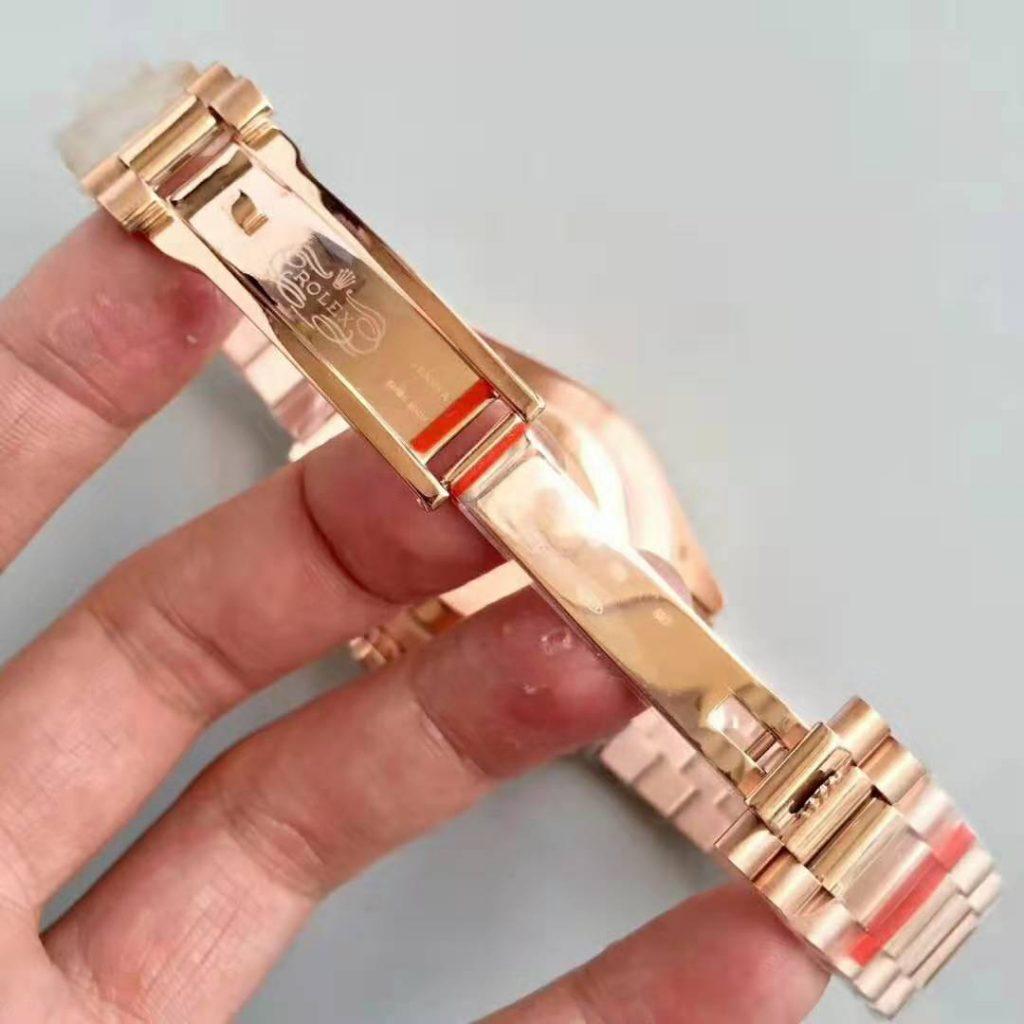 40mm 18K Rose Gold Replica Rolex Day Date